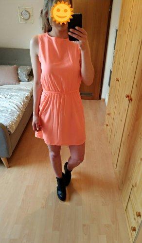 Neonfarbenes kurzes leichtes Sommerkleid  Größe 36
