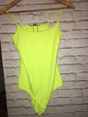 Neongelber Zara Body Damen S