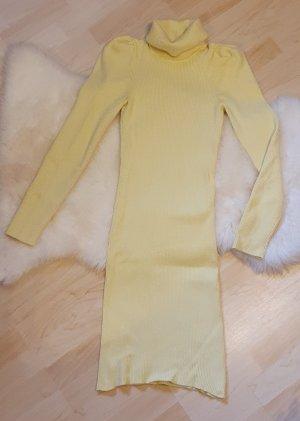 neongelbes kleid