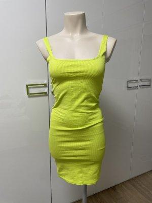 Neongelbes Kleid Neu Gr.36 von Bershka