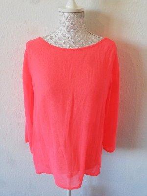 Neonpinke Bluse von Promod S