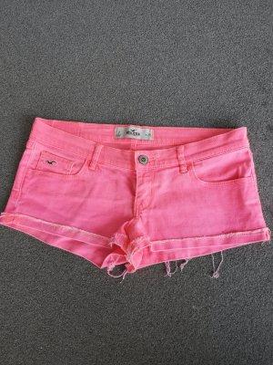 Neonpinke Hollister Hotpants (36-38/w28)