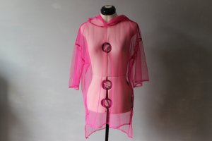 Forever 21 Poncho neon pink