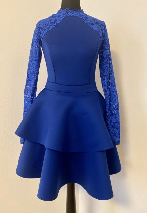 Neopren Kleid mit Spitze