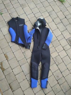 Camaro Zwempak zwart-staalblauw