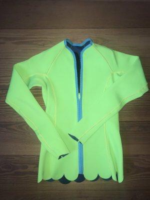 Roxy Softshell Jacket neon yellow-lime yellow