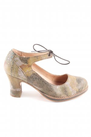 Neosens Mary Jane Pumps cream allover print extravagant style