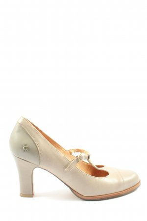 Neosens T-Strap Pumps natural white casual look