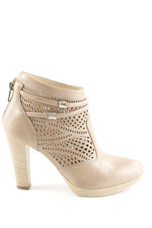 Nero Giardini Ankle Boots creme Casual-Look