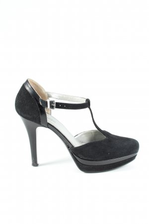Nero Giardini T-Steg-Pumps schwarz Party-Look