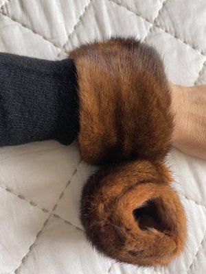 Scaldamuscoli marrone scuro-marrone
