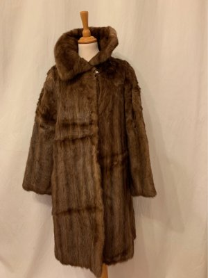 Pelt Coat bronze-colored