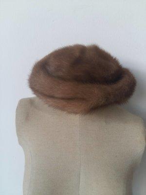 Fur Hat beige pelt