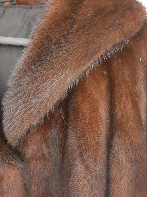Abrigo de piel color bronce Pelaje
