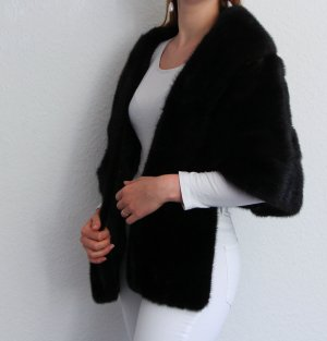 Kürschner Manteau de fourrure multicolore