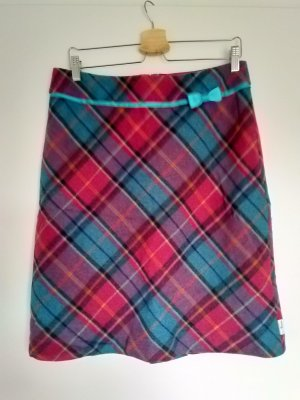 Tweed Skirt multicolored wool