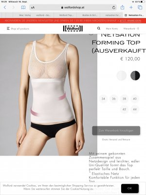 Wolford Tanktop wit