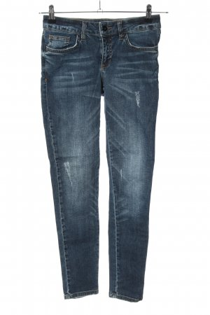 NetWork Jeansy o obcisłym kroju niebieski W stylu casual