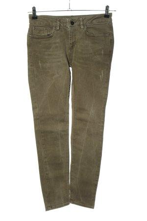NetWork Skinny Jeans khaki Casual-Look