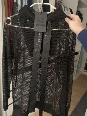 Missguided Camisa de malla negro