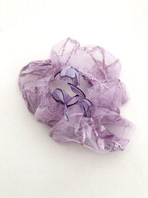 Wstążka do włosów jasny fiolet-liliowy