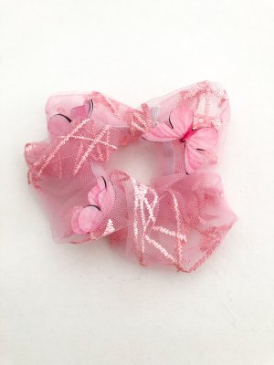 Wstążka do włosów różowy-jasny różowy