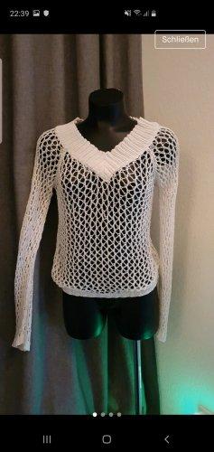 Bodyright Crochet Sweater natural white