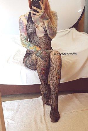 Netzanzug Ouvert Fischnetz BDSM Gogo sexy Fetisch Catsuit Strapse Bodysuit Dessous Bodystocking Lingerie Reizwäsche Neckholder Spinnennetz