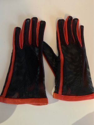 Roeckl Net Gloves bright red-black