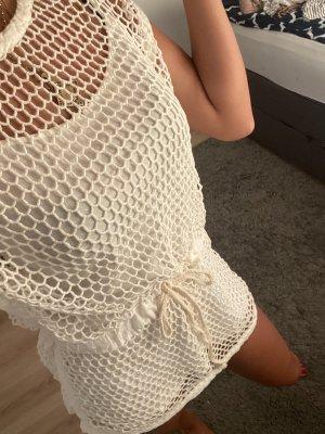 Netzkleid weiß