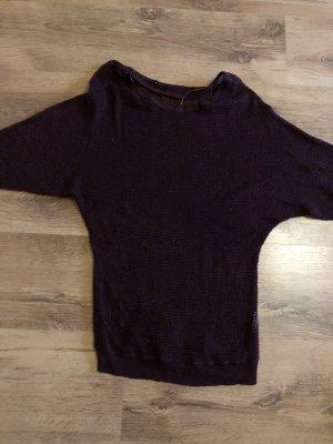 Amisu Gehaakt shirt bordeaux
