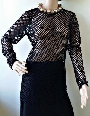 By Marlene Birger Camisa de malla negro poliamida