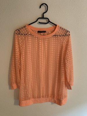 Atmosphere Camisa de malla naranja neón-rosa neón
