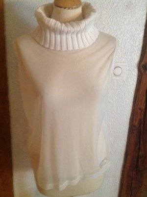 Airfield Turtleneck Shirt white mixture fibre
