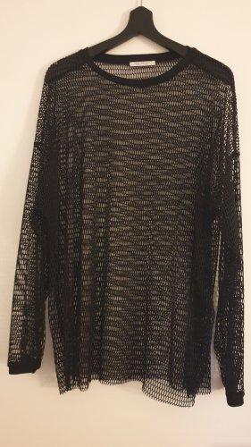 Zara Netshirt veelkleurig Katoen