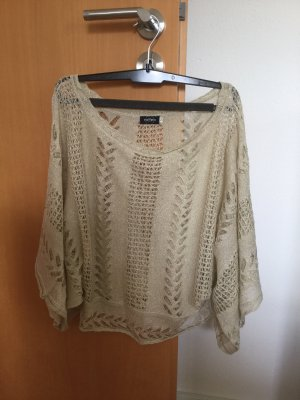 Mesh Shirt gold-colored