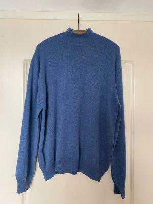 Unikat Pullover in cashmere azzurro Cachemire
