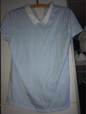 Clockhouse Colletto camicia bianco-azzurro