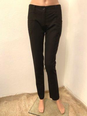 Neu 172€ Business Office elegante klassische Hose 36 S Baumwolle elastisch stretch figurbetohnt