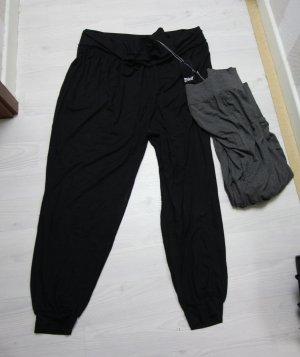 Crivit Pantalone alla turca nero-grigio