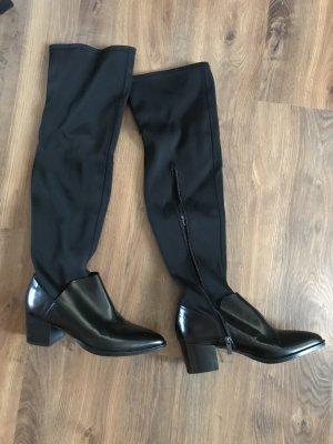 Steffen Schraut Stretch Boots black leather