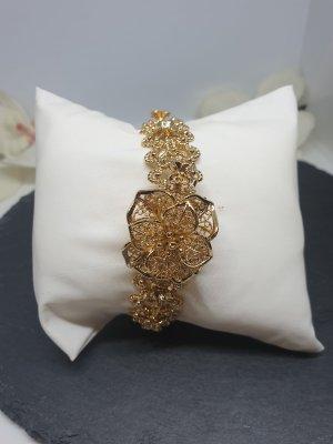 Brazalete de oro color oro