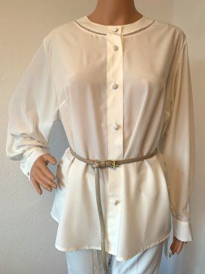 Neu 258€ oversize Seidenbluse Hemd Shirt Tunika Kaftan Top Bluse Seide M L 38 40 42
