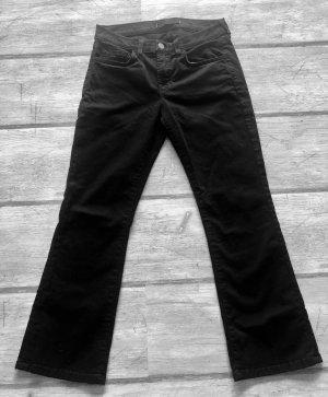 JBRAND Jeans 7/8 noir coton
