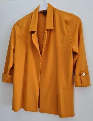 New Look Blazer in jersey giallo-oro