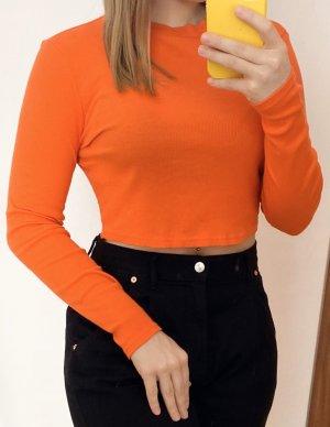 Boatneck Shirt orange