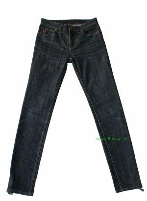Louis Vuitton Tube Jeans black cotton