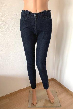 Neu 430€ Kenzo Paris figurbetonte elastische Skinny Jeans Röhrenjeans Hose 34 XS Baumwolle
