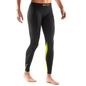 NEU! 95€  SKINS DNAMIC Sport Fitness Leggings Gym Yoga Running Hose schwarz gr. L
