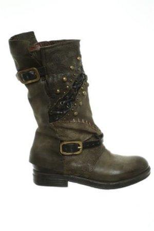 NEU!!   A.S.98 Stiefel aus Leder in Oliv Gr. 36